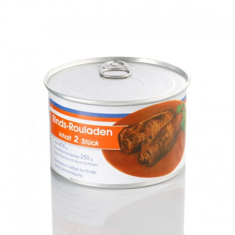 Rinds-Rouladen (400g-Dose)